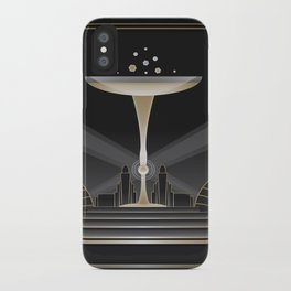 Art deco design VI iPhone Case