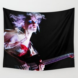 St. Vincent Annie Clark Wall Tapestry