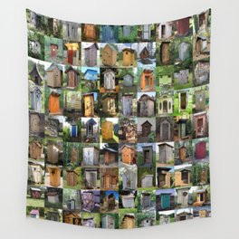 Outhouses Wall Tapestry