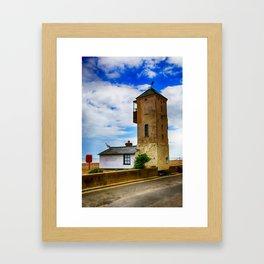 South Lookout Tower Aldeburgh Beach Framed Art Print