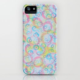 Circles Upon Circles iPhone Case