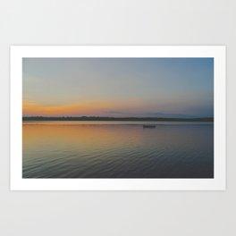 Indian Lake Art Print