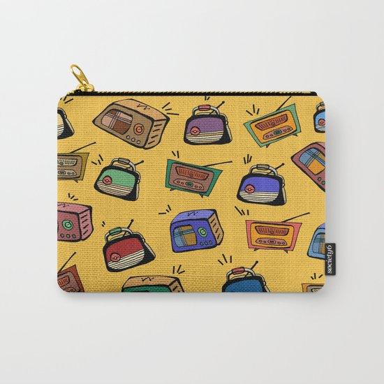 Radio Show Carry-All Pouch