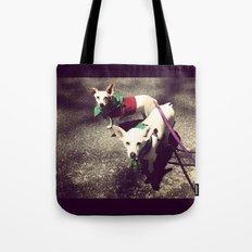 Blanca Y Lobo Tote Bag