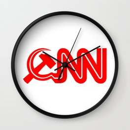 Communist News Network Wall Clock
