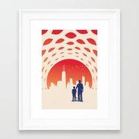 skyline Framed Art Prints featuring Skyline by Jay Fleck
