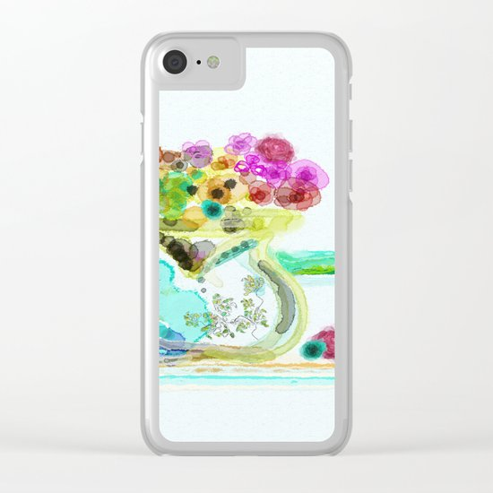 morning tea Clear iPhone Case