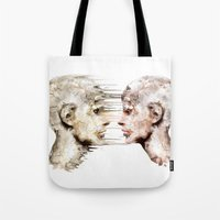 psychology Tote Bags featuring Love is all ! by teddynash