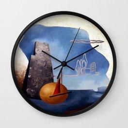 Luigi Colombo Magical Landscape Wall Clock