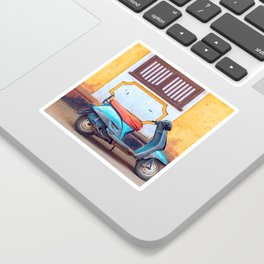 Travel photography made in India. Sticker