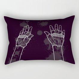 Look Mum No Hands! Rectangular Pillow