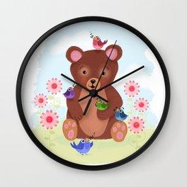Five Chirp Harmony Wall Clock