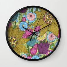 Garden of Miracles Wall Clock