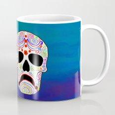 Comedy-Tragedy Colorful Sugar Skulls Mug