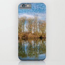 DE - Baden-Wurttemberg : Lake and clouds iPhone Case