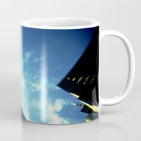 building Mugs featuring Building by Jacquie Fonseca