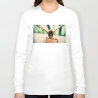 moth Long Sleeve T-shirts featuring moth by Sookie Endo