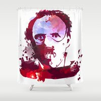 hannibal Shower Curtains featuring Hannibal by BIG Colours