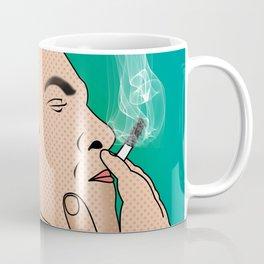 comics   smocking man Coffee Mug