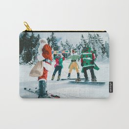 Santa Claus in the snow Carry-All Pouch