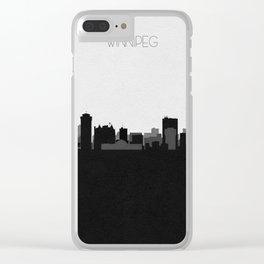 City Skylines: Winnipeg Clear iPhone Case