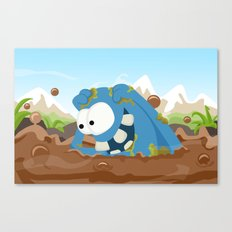 Monster KRATZ from Monster series Canvas Print