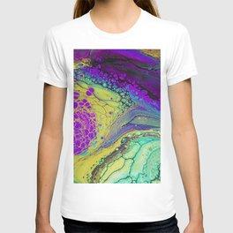 Dragon Melt - purple T-shirt