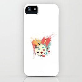 I Arted Funny Artist  iPhone Case