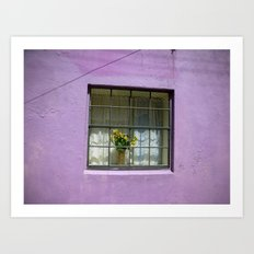 An Alley in Curacao Art Print