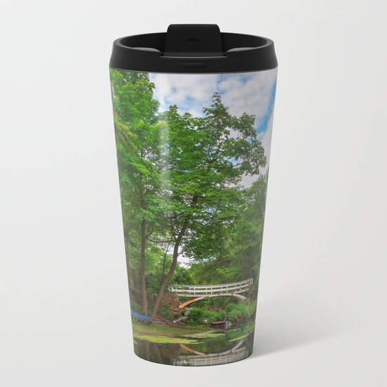 Jean-Drapeau Arch Pond Metal Travel Mug