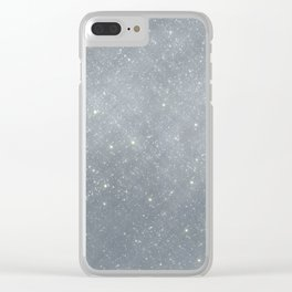 Shine Sparkle Shimmer - Icicle Clear iPhone Case