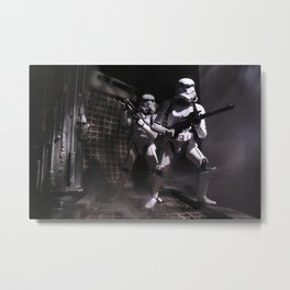 Boarding Party Metal Print
