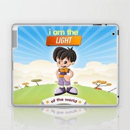 I am the Light of the world. Laptop & iPad Skin