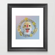 Peace & Pills Framed Art Print