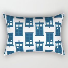 Wibbly wobbly timey wimey stuff Rectangular Pillow