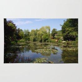 Monets Waterlily Pond Rug