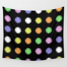 Rainbow Fuzz Wall Tapestry