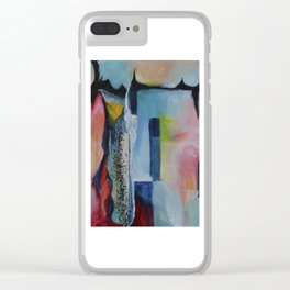 My Sister Dreams Clear iPhone Case