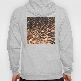 Macro Copper Abstract Hoody