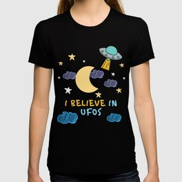 I believe in UFOs T-shirt