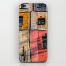 Hundertwasserhaus  Vienna Austria 2 building iPhone Skin