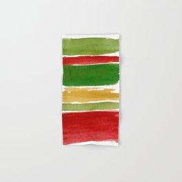 Christmas Colour Palette Hand & Bath Towel
