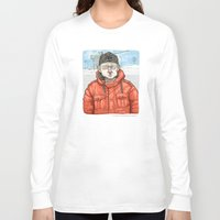 fargo Long Sleeve T-shirts featuring Lester Nygaard… He'd hate for your pretty face to freeze…  by suPmön