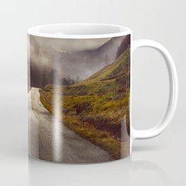 Foggy road Coffee Mug