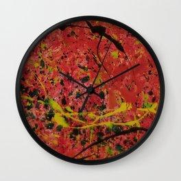 Mini Abstract 11 Wall Clock
