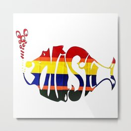 phish band logo Metal Print