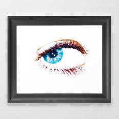 April's Eye Framed Art Print
