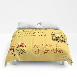 ahora (now) Comforters