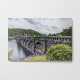 Lake Vyrnwy Dam Metal Print