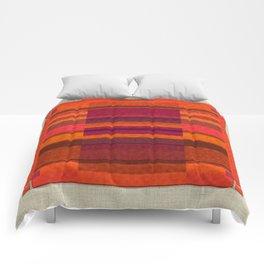 """""""Pink and Purple Burlap & Velveteen"""" Comforters"""